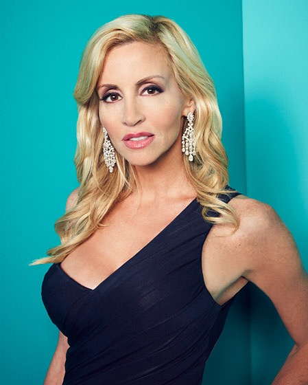 Housewife Camille Grammer | hairstylegalleries.com