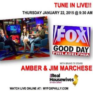 amber-jim-marchese-television-appearence